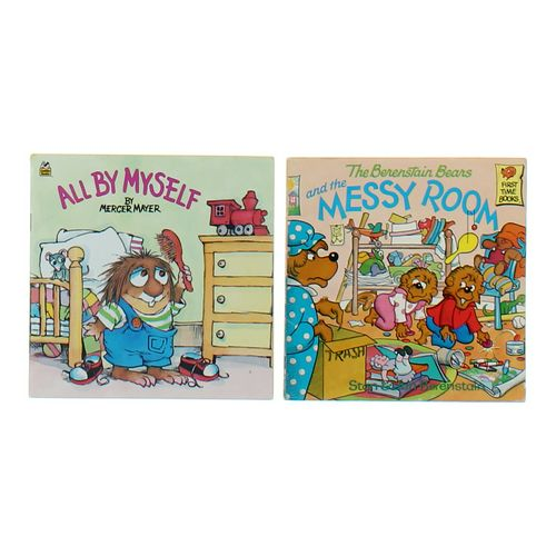 Book:The Berenstain Bears and the Messy Room & all By Myself at up to 95% Off - Swap.com
