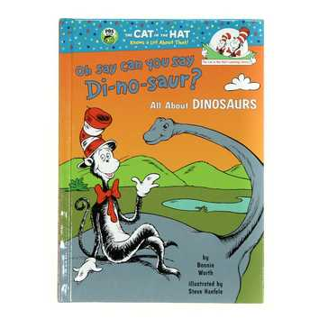 Book:The Cat In The Hat : All About Dinosaurs for Sale on Swap.com
