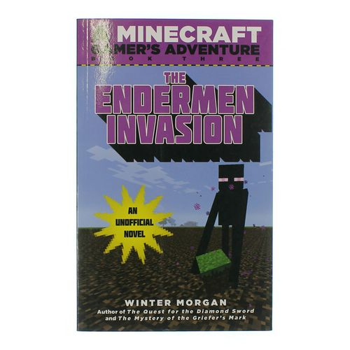 Book:The Endermen Invasion ( A Minecraft Gamer Adventure ) at up to 95% Off - Swap.com