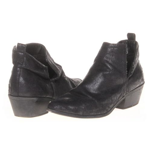 JustFab Booties in size 6 Women's at up to 95% Off - Swap.com