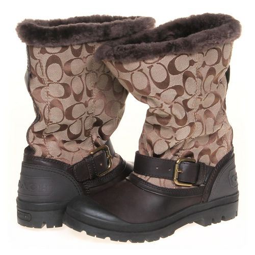 Coach Boots in size 5.5 Women's at up to 95% Off - Swap.com