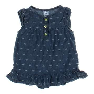 Bow Accented Denim Dress for Sale on Swap.com
