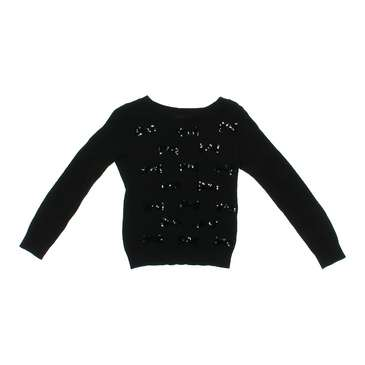 Bow Accented Sequined Sweater for Sale on Swap.com