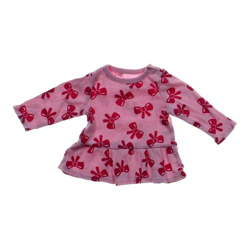 Jumping Beans Bow Printed Shirt in size 6 mo at up to 95% Off - Swap.com