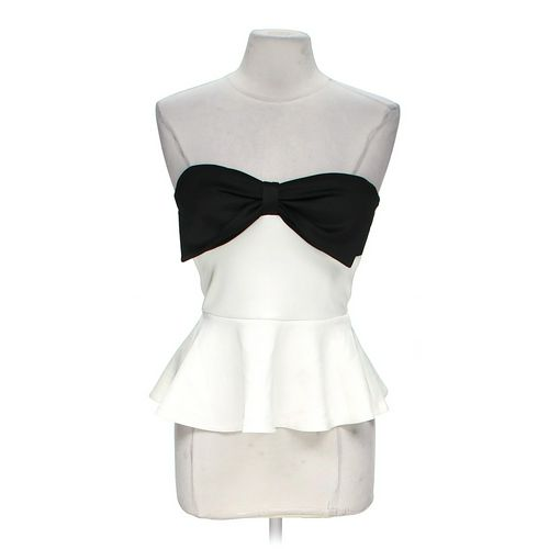 Body Central Bow Tie Tube Top in size M at up to 95% Off - Swap.com