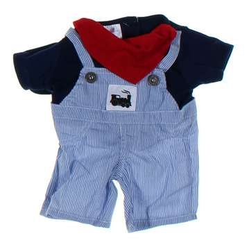 Build A Bear Overalls and Cap for Sale on Swap.com