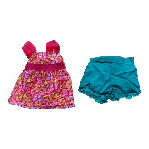 Park Bench Kids Butterfly Patterned Tank Top & Ruffled Shorts in size 6 mo at up to 95% Off - Swap.com