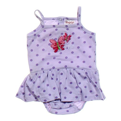 Snugabye Butterfly Polka Dot Tank Dress in size 6 mo at up to 95% Off - Swap.com