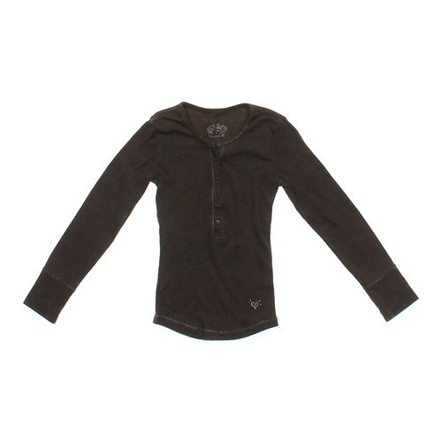 Justice Button Accented Shirt in size 7 at up to 95% Off - Swap.com