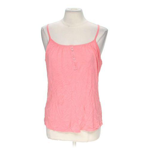 New York & Company Button Accented Tank Top in size 8 at up to 95% Off - Swap.com