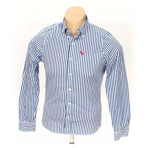Abercrombie & Fitch Button-down Long Sleeve Shirt in size L at up to 95% Off - Swap.com