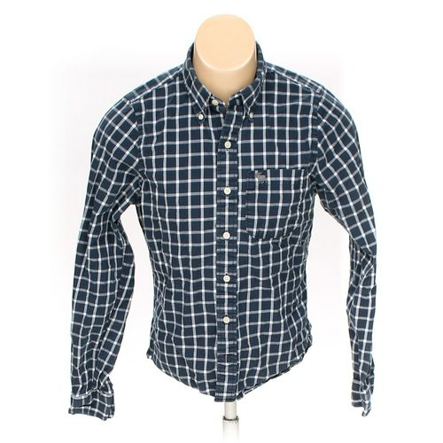 Abercrombie & Fitch Button-down Long Sleeve Shirt in size M at up to 95% Off - Swap.com
