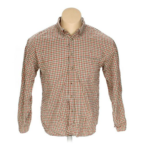 Address Unknown Button-down Long Sleeve Shirt in size XL at up to 95% Off - Swap.com