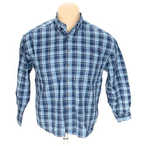 American Hero Button-down Long Sleeve Shirt in size XL at up to 95% Off - Swap.com