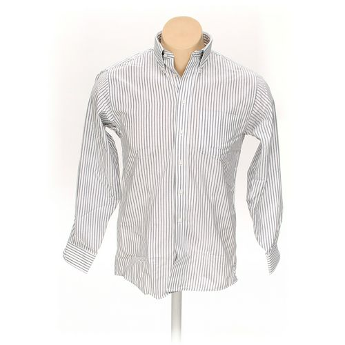 "Arrow Button-down Long Sleeve Shirt in size 46"" Chest at up to 95% Off - Swap.com"