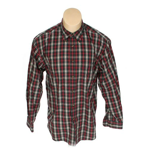 Arrow Button-down Long Sleeve Shirt in size L at up to 95% Off - Swap.com