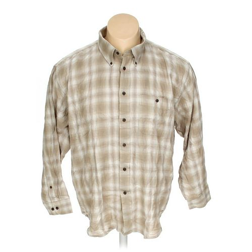 Arrow Button-down Long Sleeve Shirt in size XXL at up to 95% Off - Swap.com