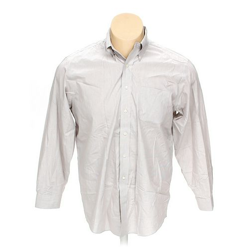 """Brooks Brothers Button-down Long Sleeve Shirt in size 54"""" Chest at up to 95% Off - Swap.com"""