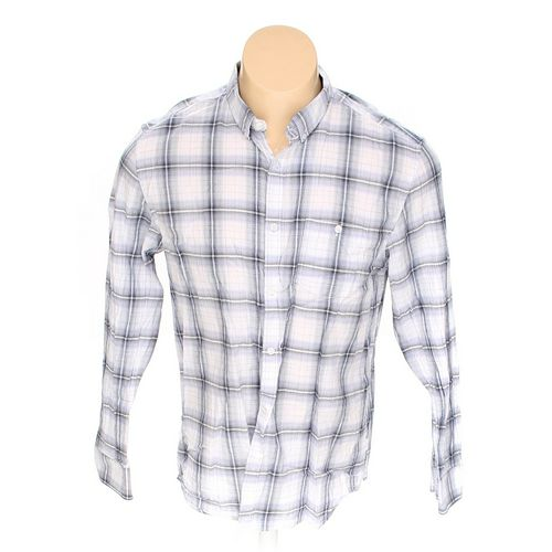 Calvin Klein Button-down Long Sleeve Shirt in size L at up to 95% Off - Swap.com