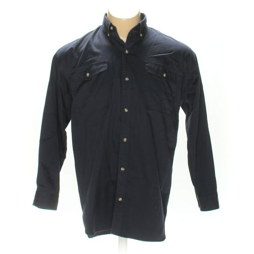 Cherokee Button-down Long Sleeve Shirt in size M at up to 95% Off - Swap.com