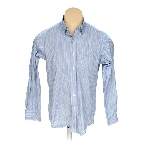"""Club Room Button-down Long Sleeve Shirt in size 46"""" Chest at up to 95% Off - Swap.com"""