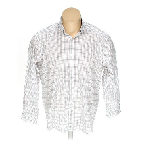 """Club Room Button-down Long Sleeve Shirt in size 54"""" Chest at up to 95% Off - Swap.com"""