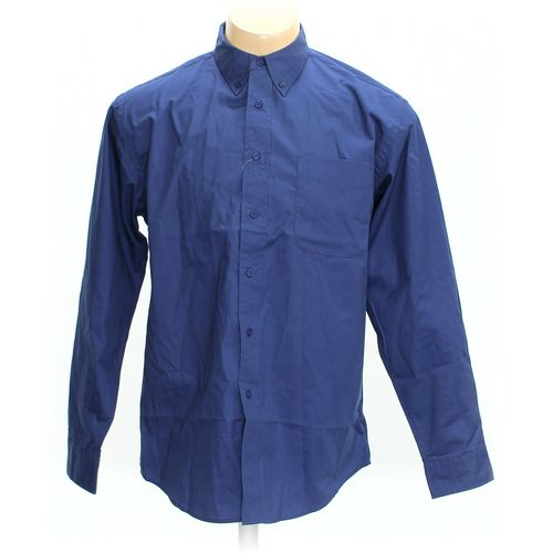 Corner Stone Button-down Long Sleeve Shirt in size L at up to 95% Off - Swap.com