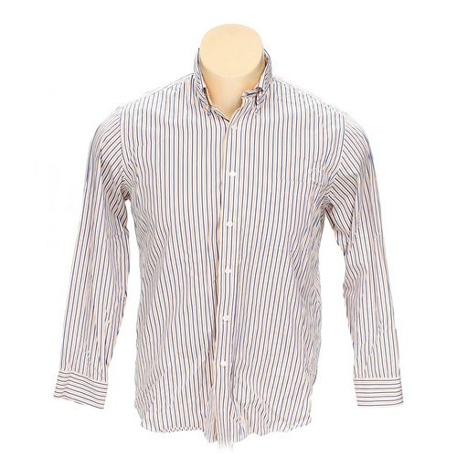 "Croft & Barrow Button-down Long Sleeve Shirt in size 56"" Chest at up to 95% Off - Swap.com"