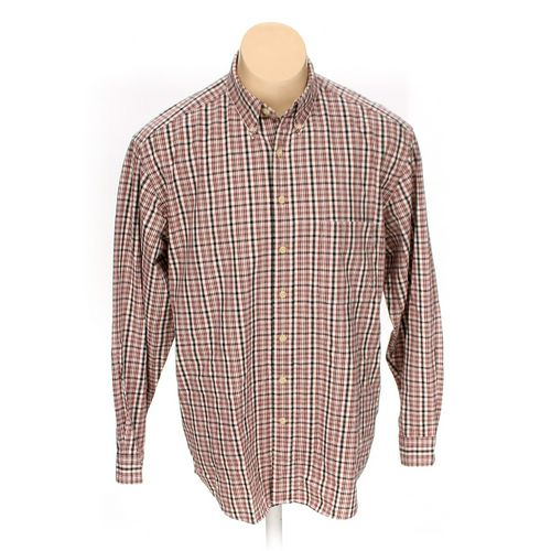 Eddie Bauer Button-down Long Sleeve Shirt in size L at up to 95% Off - Swap.com