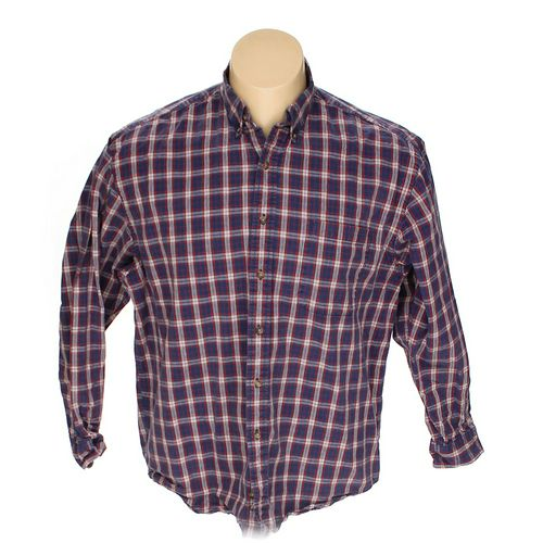 Eddie Bauer Button-down Long Sleeve Shirt in size XL at up to 95% Off - Swap.com