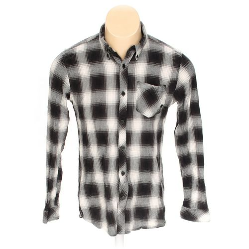 Element USA Button-down Long Sleeve Shirt in size M at up to 95% Off - Swap.com