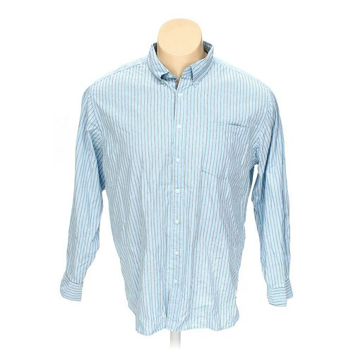 Faded Glory Button-down Long Sleeve Shirt in size 2XL at up to 95% Off - Swap.com