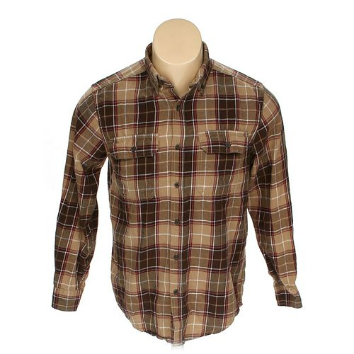 Faded Glory Button-down Long Sleeve Shirt in size S at up to 95% Off - Swap.com