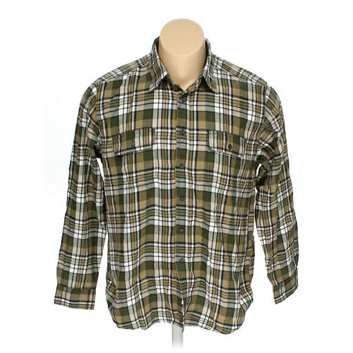 Faded Glory Button-down Long Sleeve Shirt in size XL at up to 95% Off - Swap.com