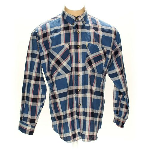 "Fateh Button-down Long Sleeve Shirt in size 50"" Chest at up to 95% Off - Swap.com"