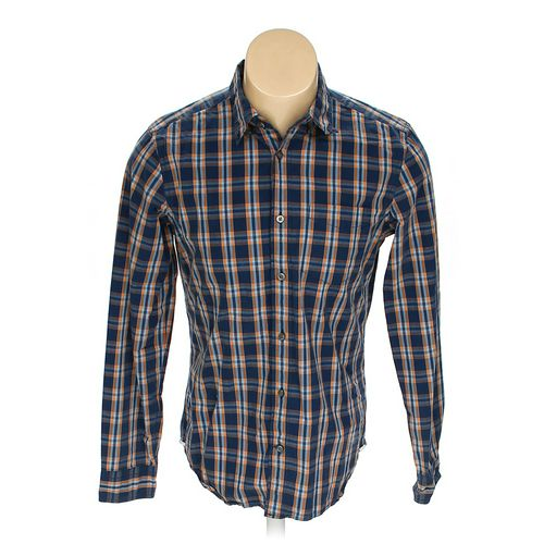 Gap Button-down Long Sleeve Shirt in size M at up to 95% Off - Swap.com