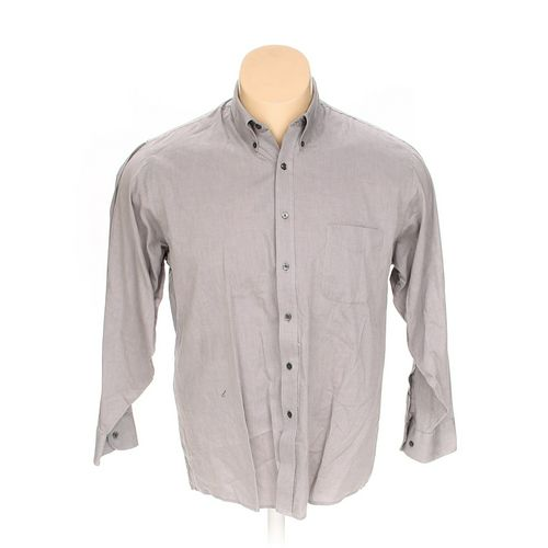 """Geoffrey Beene Button-down Long Sleeve Shirt in size 58"""" Chest at up to 95% Off - Swap.com"""