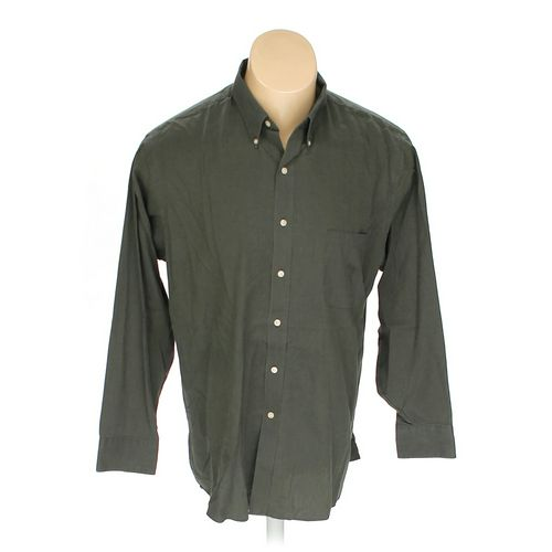 """Geoffrey Beene Button-down Long Sleeve Shirt in size 34"""" Chest at up to 95% Off - Swap.com"""