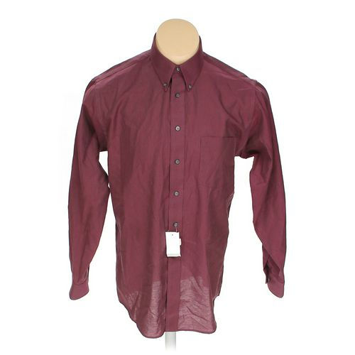 "Haggar Button-down Long Sleeve Shirt in size 50"" Chest at up to 95% Off - Swap.com"