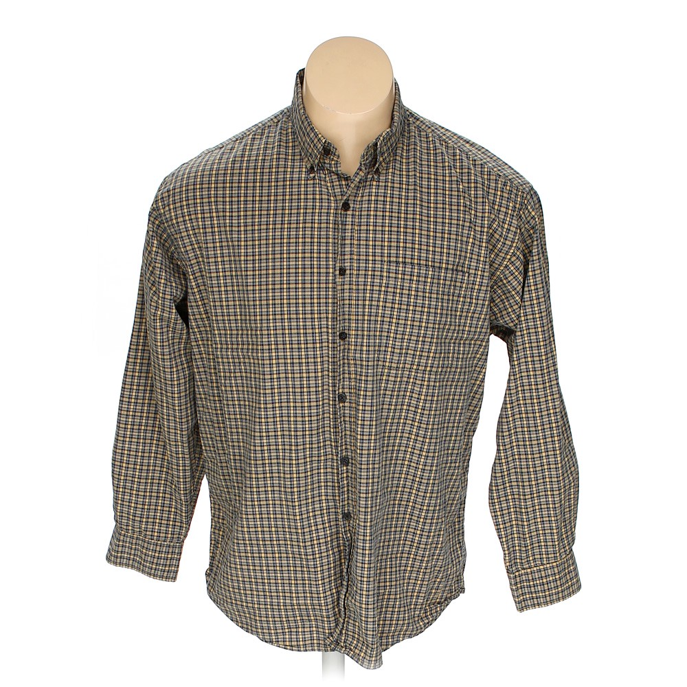c7fb9435 Haggar Button-down Long Sleeve Shirt in size L at up to 95% Off