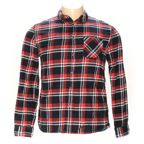 H&M Button-down Long Sleeve Shirt in size L at up to 95% Off - Swap.com