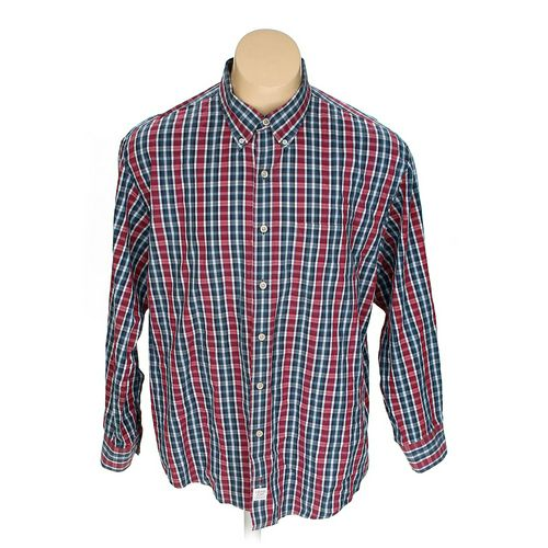 Izod Button-down Long Sleeve Shirt in size 2XL at up to 95% Off - Swap.com