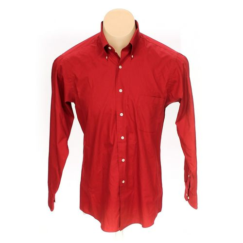 Izod Button-down Long Sleeve Shirt in size L at up to 95% Off - Swap.com