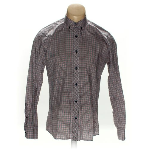 Jared Lang Button-down Long Sleeve Shirt in size M at up to 95% Off - Swap.com