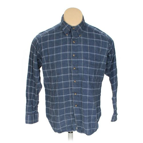 John Ashford Button-down Long Sleeve Shirt in size L at up to 95% Off - Swap.com