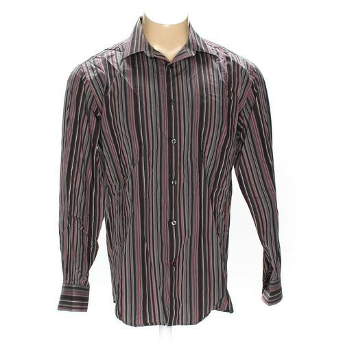Kenneth Roberts Button-down Long Sleeve Shirt in size L at up to 95% Off - Swap.com