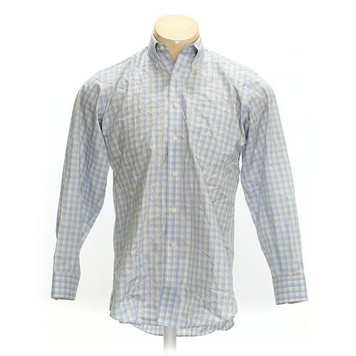 """Kirkland Signature Button-down Long Sleeve Shirt in size 44"""" Chest at up to 95% Off - Swap.com"""