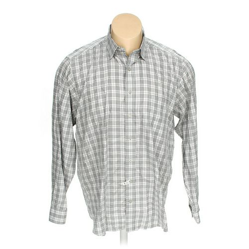 Kirkland Signature Button-down Long Sleeve Shirt in size XL at up to 95% Off - Swap.com