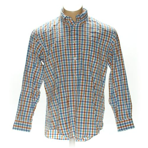 "Lands' End Button-down Long Sleeve Shirt in size 40"" Chest at up to 95% Off - Swap.com"