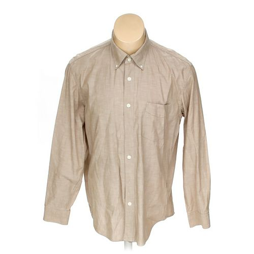 Lands' End Button-down Long Sleeve Shirt in size L at up to 95% Off - Swap.com